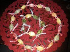 Korale i bransoletka z cukierków