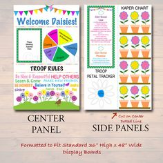 Girl Scout Leader, Girl Scout Troop, Science Fair Display Board, Girl Scout Promise, Girl Scout Activities, Girl Scout Juniors, Growth Charts, Daisy Girl Scouts, Certificate Templates
