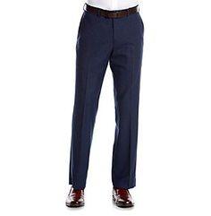 Perry Ellis® Men's Slim Fit Sharkskin Suit Separates Pants