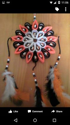Native American Patterns, Native American Beading, Plastic Canvas Ornaments, Plastic Canvas Crafts, Plastic Canvas Stitches, Plastic Canvas Patterns, Canvas Mobile, Music Crafts, Crafts For Seniors