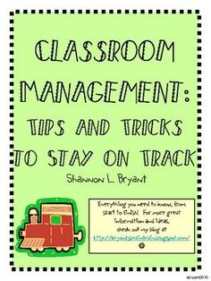 Back to School Classroom Management (Train Theme)