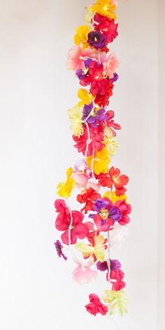 Faux Floral Lights