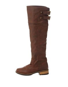 Qupid Lug Sole Knee-High Riding Boots #CharlotteRusse #CRfashionista #boots #shoes