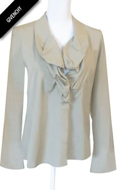 Chemise grise Givenchy 100% coton Made in Italy Taille étiquette   42   L 49 7be153bf480