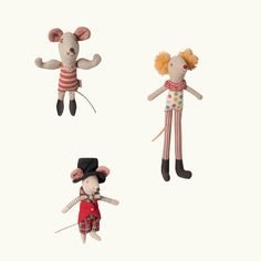 Maileg Circus Mice   Huset-Shop.com