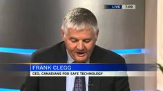July 10 2014 Frank Clegg, CEO of Canadians for Safe Technology (C4ST) talks about the masses of scientific research ignored by Health Canada in their review ...
