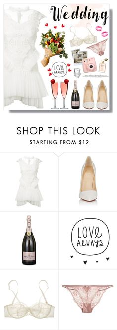"""So Pretty: Dreamy Dresses"" by fashiondiaryy ❤ liked on Polyvore featuring Jonathan Simkhai, Christian Louboutin, Nina Ricci, Heidi Klum Intimates, Polaroid, Fujifilm and H&M"