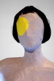 Mai-Thu Perret Detail: Apocalypse Ballet (Neon Belt), 2006 Steel, wire, papier-mache, acrylic, gouache, wig, neon tubes