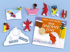 The Snowy Day Storytelling Kit at Lakeshore Learning Preschool Lessons, Preschool Activities, The Snowy Day Book, Ezra Jack Keats, Snow Activities, Book Baskets, Lakeshore Learning, Winter Theme, Childhood Education