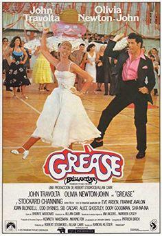 Grease on Sky Cinema - John Travolta and Olivia Newton John star in the classic musical romance set in a high school. Grease 2, Grease 1978, Grease Movie, John Travolta, Stockard Channing, Frankie Avalon, Teen Movies, Iconic Movies, Classic Movie Posters