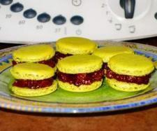 Recette Macarons ganache chocolat-poire par DELPH37 - recette de la catégorie Desserts & Confiseries