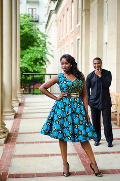 Vintage Engagement Session in Atlanta by Fotos by Fola: Mathilda + Osa - Munaluchi Bridal Magazine