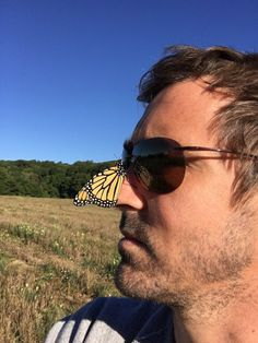 Lee Pace #tweeter #butterfly