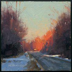sunset by Marc Hanson