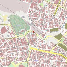 Mapa Hotel AC Milano