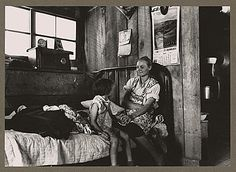 Great Depression Dust Bowl 1930 | The rough texture of the unfinished walls and furniture, along with ...