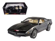 1982 Pontiac Firebird Trans Am K.I.T.T. Kitt Knight Rider 1/18 Diecast Model Car by Hotwheels