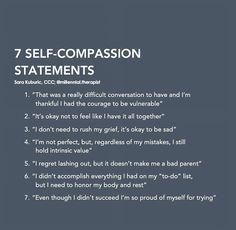 Coaching, Mental And Emotional Health, Self Compassion, Self Improvement Tips, Psychology Facts, Emotional Intelligence, Self Development, Self Esteem, Positive Affirmations