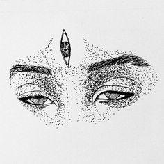 eye drawings indigochildblackjaguar:You have three eyes, two to look, one to. - indigochildblackjaguar: You have three eyes, two to look, one to see. Phycadelic Art, Trippy Quotes, Third Eye Tattoos, Arte Punk, Eye Illustration, Illustrations, Realistic Eye Drawing, Eye Sketch, Psy Art