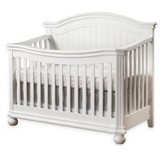 Sorelle Finley 4-in-1 Convertible Crib in White - BedBathandBeyond.com