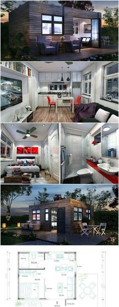 West End Tiny House by Tiny in a Box Makes the Most of its Small Space -