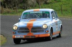 Andrew White running his '61 122 in the 2009 Targa Tasmania.