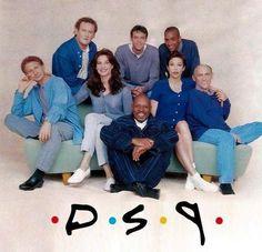 The Cast of Star Trek: Deep Space Nine #DeepSpaceNine