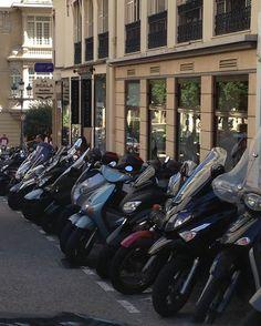 """#Vespa action in #Monaco. #VCUntouched"""