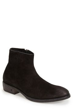 John Varvatos Collection 'Keith' Zip Boot (Men) available at #Nordstrom