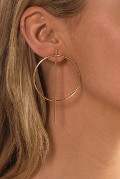 Martina Earrings – Style Addict