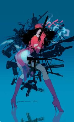 Elektra #25 by Bill Sienkiewicz