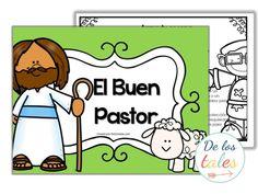 Arma tu escena. El Buen Pastor - De los tales Christian Devotions, Christian Encouragement, Words Of Encouragement, Sadrac Mesac Y Abednego, Bible For Kids, Religion, Ideas, Christianity, Craft