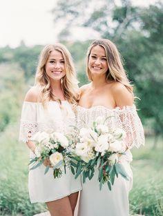 #bohemian bridesmaids | Taylor Lord