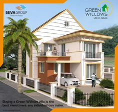 Green Willows Project comes forward with 4BHK Villa. We bring your desires into reality.