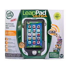 The ultimate learning tablet! Built from the inside out just for kids LeapPad Ultra features Wi-Fi with kid-safe Web and access to LeapFrog's educator-approved library of apps games and more....
