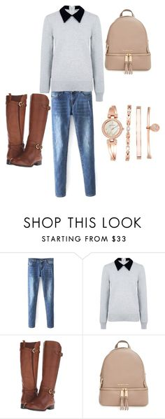 """""""Untitled #5"""" by krishnabhagat ❤ liked on Polyvore featuring Edit, Naturalizer, MICHAEL Michael Kors and Anne Klein"""