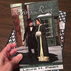 Look what came in the mail! Erin's Ring by @laura.h.pearl  . . . . . . . #yalovin #yabooks #yalit #ireadya #bookstagram #booknerd #bibliophile #bookworm #bookish #booknerdigans #bookaddict #bookfan #booklove #igbooks #instabooks #instareads #booksoninstagram #epicreads #authorsofinstagram #writersofinstagram