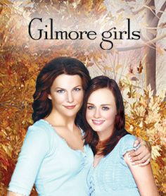 My favorite tv show ever, The Gilmore Girls! I LOVE THIS SHOW!!! Even though there are no more new shows, I still watch it all the time on tv and have the dvd series. Love it!!!