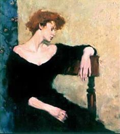Malcolm Liepke - Seated Profile