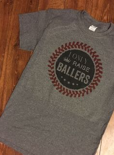 A personal favorite from my Etsy shop https://www.etsy.com/listing/498007170/baseball-mom-shirt-baseball-mom-mom-of