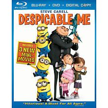 Despicable Me 3 Disc BLU-RAY Combo Pack