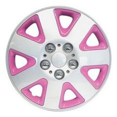 Pink rims :) I want ! Pink rims :) I want ! Pink rims :) I want ! Pink rims :) I want ! Pink rims :) I want ! Pink rims :) I want ! Pink rims :) I want ! Pink rims :) I want ! Lilly Pulitzer, Pink Rims, White Rims, Pink Wheels, Hot Wheels, Pink Jeep, Car Accessories For Girls, Vehicle Accessories, Motorcycle Accessories