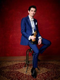 Damien Chazelle from 2017 Oscars Winners Portraits  At 31, the man behindLa La Land became the youngest person to win in the Best Director category.