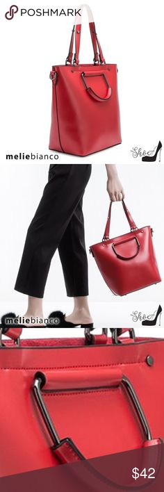 4a54a4d23b2b Melie Bianco: Blanche Bag - Luxury Vegan Leather Luxury Vegan Leather  Designer Bag - PETA