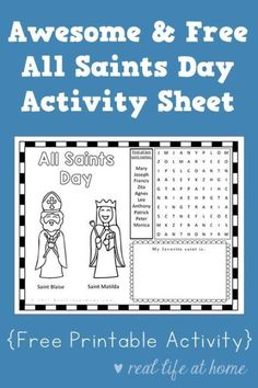 Pinterest Catholic Religious Education, Catholic Crafts, Catholic Kids, Catholic Saints, Catholic Catechism, Catholic Homeschooling, Mary Day, Ccd Activities, Santos