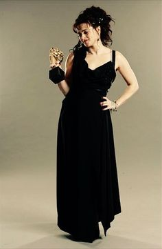 """bonhamxcarter: """" Helena Bonham Carter wins Best Supporting Actress for 'The King's Speech' - 64th BAFTA Portraits   13/02/11. """"You know what I'm so used to losing it's quite a strange feeling to win... #helenabonhamcarter ❤LovelyQueenHBC❤"""