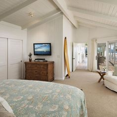 North facing rooms are a must in any seaside property