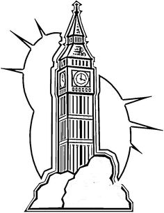 Big-ben-in-London-coloring-page.jpg 750×971 píxeles