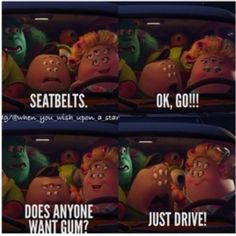 Monsters University. Oh, gosh, Squishy's mom has to be one of my favorite characters from this movie.