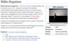 """Zento: Miten Mikko Hyppösestä tuli media? """"Yksi @mikko Hyppönen myy aivan varmasti enemmän kuin kaikki F-Securen myyjät yhteensä"""". Näin totesi Jani Virtanen M&M:n sisältömarkkinoinnista kertovassa blogissa jonkin aikaa sitten. Mitä tähän vastaa itse guru eli kuinka tärkeä rooli on Mikko Hyppösen henkilö/asiantuntijabrändillä ja viestinnällä F-Securen markkinoinnissa? """"Joo, varmasti myyn todella paljon vaikken myyntimies olekaan. Terveisiä vaan esimiehelle …"""
